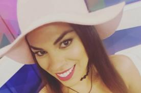 Aída Martínez te dejará sin energías con este hilo dental - FOTO
