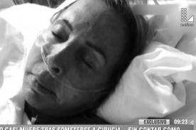 Laura Bozzo salvó de morir y ahora le pasa lo peor que jamás imaginó