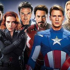 Primera imagen de The Avengers con Chris Evans, Robert Downey Jr y Chris Hemsworth