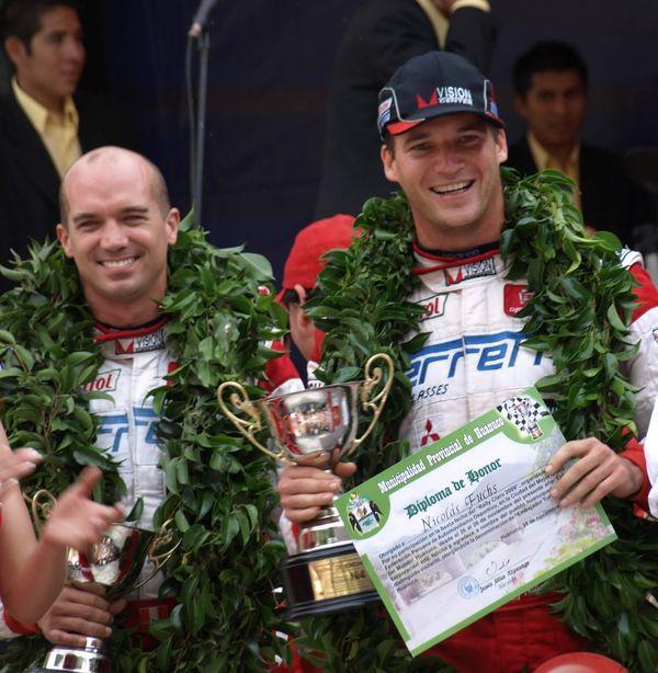 Rally peruano: Nicolás Fuchs ganó el Rally de Ayacucho