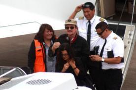 Bono se retira de Machu Picchu ante acoso de la prensa