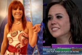 Abogada de Magaly Medina: No difamó a Lucía Oxenford