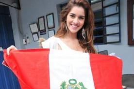 Korina Rivadeneira apoya a la selección peruana: Le ganaremos a Colombia