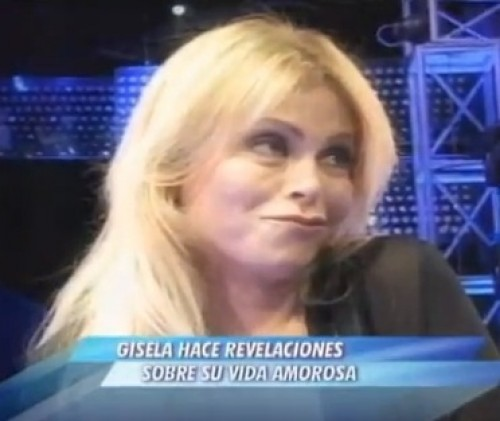 Video: Gisela Valcárcel revela que no tiene sexo hace cinco años