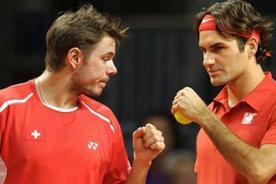 Olimpiadas 2012: Federer y Wawrinka avanzan sufriendo en dobles