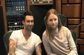 Maroon 5 envió saludo a sus fans sudamericanos - Video