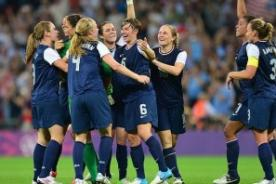 Londres 2012: Estados Unidos ganó 2-1 a Japón y se pintó de oro