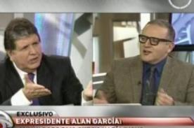 Alan García tilda de ignorantes a chilenos que se burlaron de los Bora