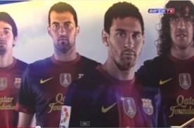 Barcelona estrena vestuarios para la temporada 2012-2013 (Video)