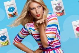 Maria Sharapova sacó al mercado sus propios caramelos