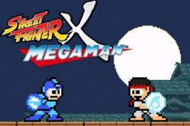 Descarga la segunda versión de Street Fighter X Megan Man