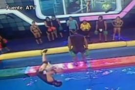 Combate: 'Pantera' Zegarra golpea fuerte a Jenko - Video