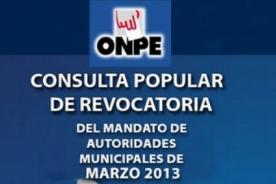 Revocatoria Villarán: Cómo ubicar tu mesa de votación