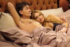 Lindsay Lohan y Charlie Sheen vuelven a compartir la cama