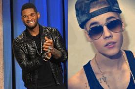 Usher defiende a Justin Bieber: Es un adolesente que vive expuesto
