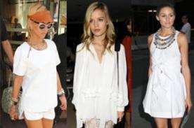 Rihanna, Rita Ora y May Jagger hacen que el blanco no pase de moda