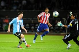 A qué hora juega Paraguay vs Argentina por Eliminatorias Brasil 2014 hoy 10 de setiembre