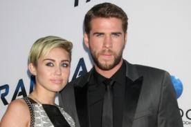 Liam Hemsworth está orgulloso de Miley Cyrus, aseguran