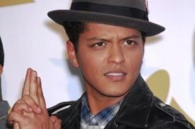 Bruno Mars con dos nominaciones en los MTV Europe Music Awards 2013