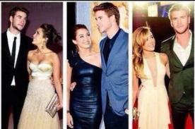 Smilers señalan que Liam Hemsworth solo buscaba cámaras con Miley Cyrus