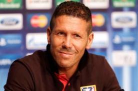 Diego Simeone:  El momento del equipo es un premio al trabajo
