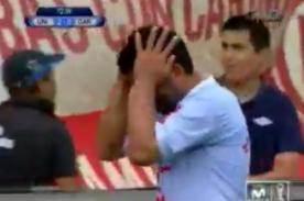 Video: Fabio Ramos falla penal ante Universitario – Play Off 2013