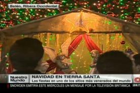 Video: Así se vivió la Navidad en Belén, tierra donde nació Jesús