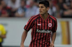 Eintracht Frankfurt: Carlos Zambrano es elegido como el mejor de su club
