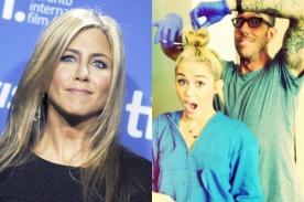 Jennifer Aniston está celosa de Miley Cyrus por su estilista
