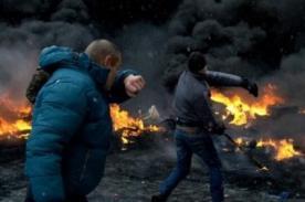 Ucrania: Polémica tras el disparo de un policía a un camarógrafo