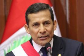 Ollanta Humala se pronuncia sobre actos racistas a brasileño Tinga