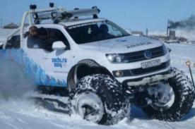 Vehículo oficial para los Juegos Olímpicos de Invierno Sochi 2014