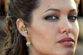Angelina Jolie ensayó esta mañana para su presentación en los Oscar 2014