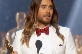 Jared Leto reveló que amigos rompieron su 'Oscar'