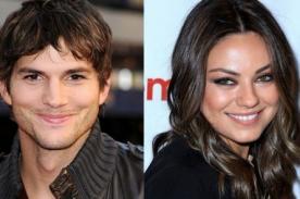 Ashton Kutcher y Mila Kunis son bendecidos por el padre de la actriz