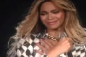 Beyoncé se despidió de su gira Mrs. Carter Tour entre lágrimas (Video)