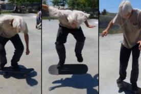 Neil Unger: Skater de 60 años que es tendencia en las redes sociales - VIDEO