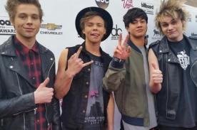 Billboard 2014 en vivo: 5 Seconds of Summer alborotan la alfombra roja