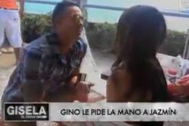 EEG: Jazmín Pinedo confiesa cuándo se casará con Gino Assereto [VIDEO]