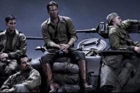 Mira el primer trailer de Fury, la nueva película de Brad Pitt - VIDEO