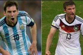 ¿Argentina tendrá su revancha contra Alemania por la Copa del Mundo?