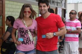 Sebastián Lizarzaburu y Andrea San Martín ya tienen su 'nidito' de amor