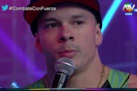 Combate: Mario Hart le pide disculpas a Alejandra Baigorria - VIDEO