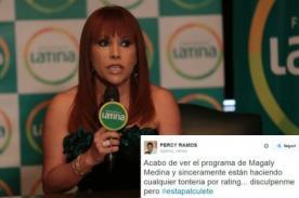 Twitter: ¡Usuarios destruyen a Magaly Medina por tremendo 'programón'! - FOTOS
