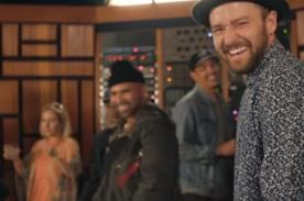 Justin Timberlake estrena 'Can't Stop the Feeling' con famosos - VIDEO