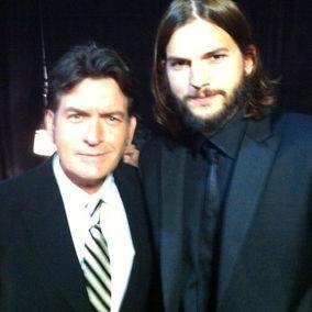 Charlie Sheen afirma que el debut Ashton Kutcher fue sensacional