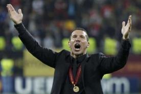 Europa League: Diego Simeone atribuye título solo a sus jugadores