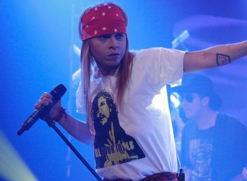 Yo Soy: Axl Rose peruano la rompió en Yo Soy con Knockin On Heaven's Door