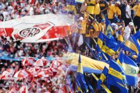 Fútbol argentino: Clásico entre Boca y River ya tiene fecha