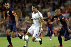 Real Madrid vs Barcelona (2-1) en vivo por ESPN - Supercopa de España 2012/13
